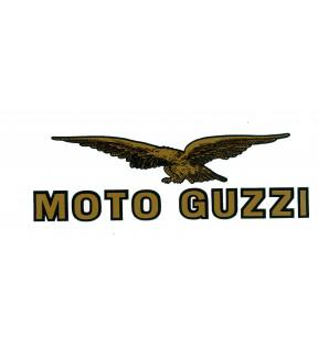 DECAL FAIRING EAGLE-MOTO GUZZI GOLD/BLACK