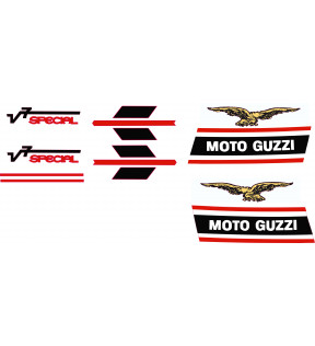 DECAL COMPLETE SERIES 9 PIECES POLYMER VINYL