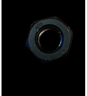 HEXAGONAL DIE M10 X1.5 MEDIUM BLACK CHROME