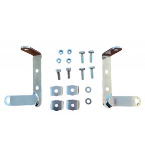 LOWER BRACKETS FIXING WINDSHIELD KIT WITH VITERIA