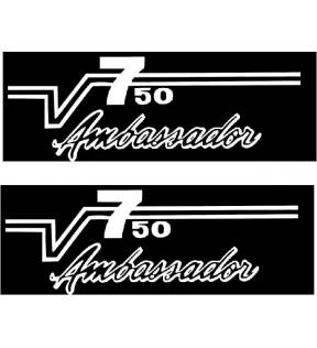 DECALCO COPRIACCUMULATORE 750 AMBASSADOR pair