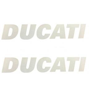 DECALCO SERBATOIO DUCATI COPPIA