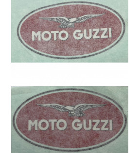 DECAL TANK RED GOLD PAIR