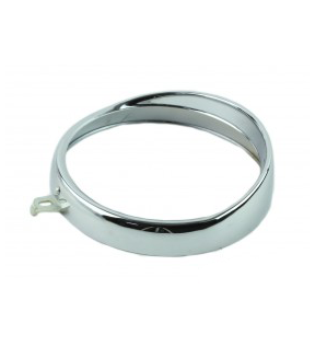 FRONT HEADLIGHT DIAL WITH VISOR .130 MM