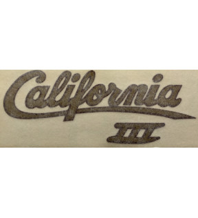 DECAL COVER 3 CALIFORNIA GOLD BLACK