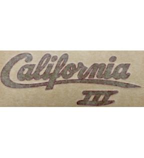 DECAL CALIFORNIA 3 GOLD BORDEAUX
