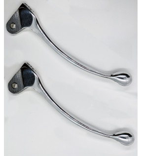 BRAKE/CLUTCH LEVERS-V7 SPECIAL-V700-NUOVO FALCONE - PAIR